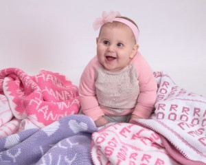 Personalized Gifts Baby Blankets More Names In Knit