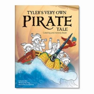 My Very Own Pirate Tale Coloring Book