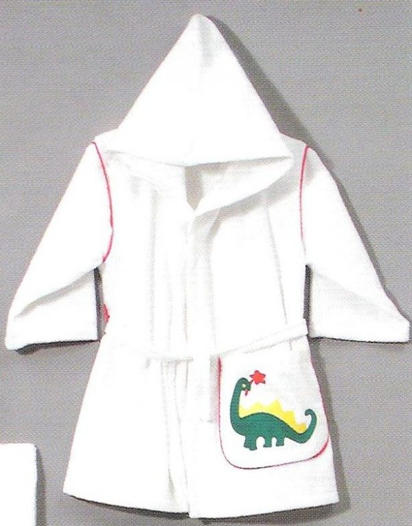 Personalized Hooded Robe Dinosaur