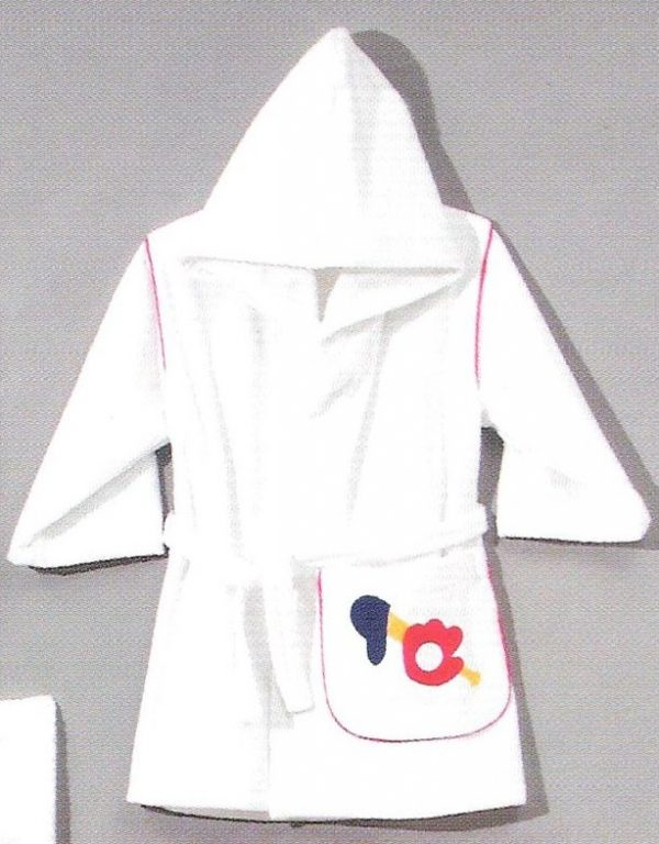 Personalized Hooded Robe Sports