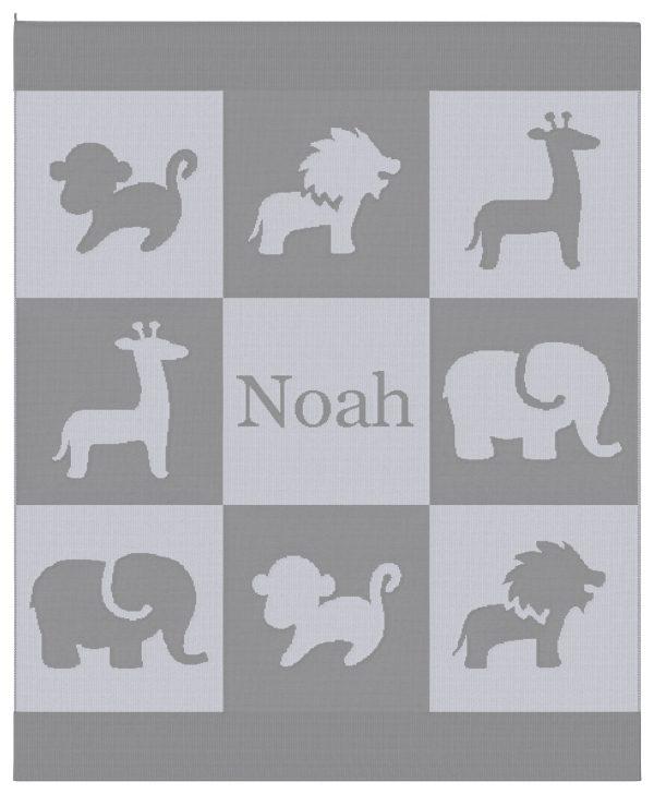 Safari Blanket - Gray