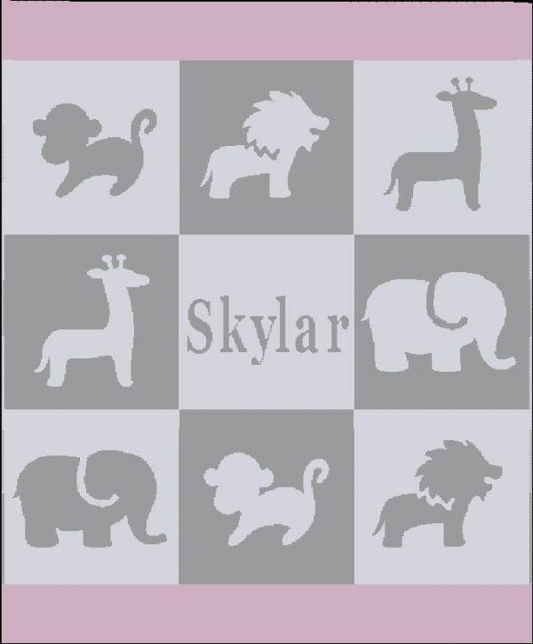 Safari Blanket - Pink